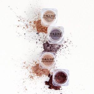 NWT! Naked Cosmetics  4 piece pigment set